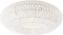 Lámpara de techo retro blanco - LINA