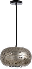 Lámpara de Techo Silesia Dorado 25x25x15cm