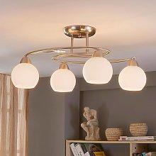 Lámpara de techoSvean de cuatro cabezales