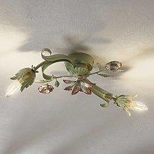 Lámpara de techo Tulipa en estilo florentino