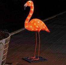 Lámpara decorativa LED Flamenco 65 cm