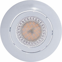 Lámpara empotrable de techo LED para sala redonda