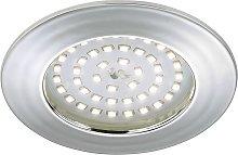 Lámpara empotrable LED Elli, aluminio