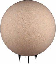Lámpara enchufable de jardín LED Foco de bola