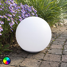 Lámpara esférica LED solar Globo