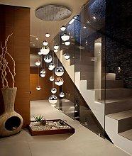 Lámpara grande 27 luces LED dimable SPHERE Ø 80