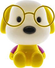 Lámpara infantil perrito amarillo E14 (Cristal