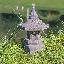 Lámpara japonesa toro jardín zen de piedra de