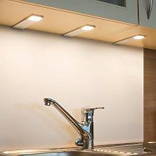 Lámpara LED bajo mueble Cortina, 3, control remoto