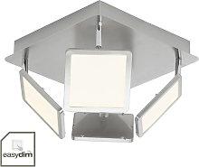 Lámpara LED de cocina 4 brazos, easydim