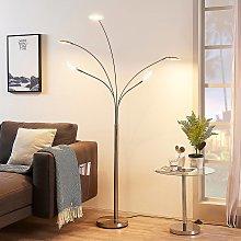 Lámpara LED de pie Anea con cinco brazos