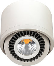 Lámpara LED de techo blanco, giratorio 90°