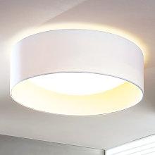 Lámpara LED de techo Franka, blanco, 41,5 cm