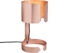 Lámpara mesa diseño cobre mate - WALTZ