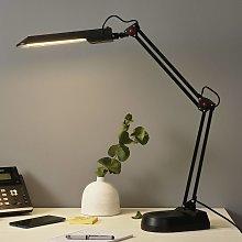 Lámpara para mesa de trabajo PRACY, color negro