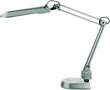 Lámpara para mesa de trabajo PRACY, color plateado