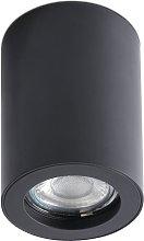 Lámpara plafón NAN negro