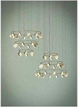 Lámpara SHELL gran formato 26 LED, dorada - Mantra