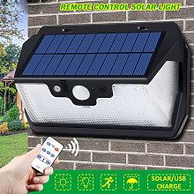 Lámpara solar 53LED 800LM con control remoto