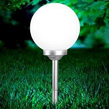 Lámpara solar Celyn de diseño esférico, 30 cm