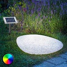 Lámpara solar LED decorativa para ext. Stone 40