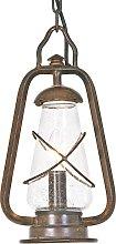 lámpara suspendida MINERS estilo farolillo
