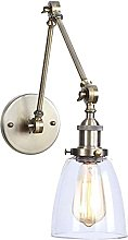 Lámparas de pared de simplicidad industrial