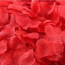 Langray - 1000 x confeti de rosas artificiales