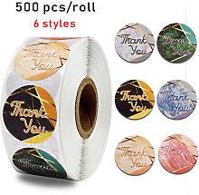 Langray - 500 pegatinas de agradecimiento de 1