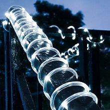 Langray - Cinta de luz solar de 12 m, 100 LED para