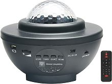 Langray - Proyector LED negro con control remoto