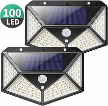 Langray - Solar Lights Outdoor, Upgraded 100 LED