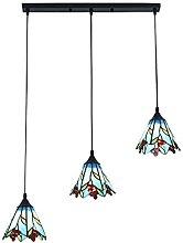 LANTING Tiffany Lámpara Colgante Creatividad