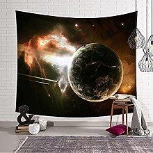 lanying Luna Tapiz Natural Arte Galaxia Estrellado