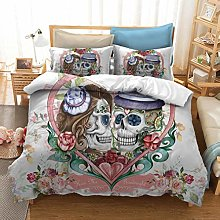 Las camas cuentan con funda de edredón y funda de
