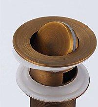 Latón frotado cobre diseño retro pop-ups cubo de