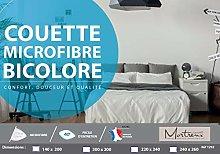 laurentmortreux - Edredón Bicolor Coral y Arena,