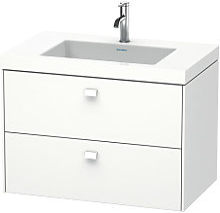Lavabo para muebles Duravit Brioso c-bonded con