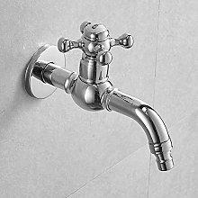 Lavadora grifo largo, grifo de baño de latón