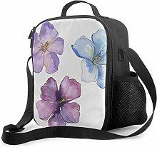 Lawenp Totes Lunch Bag Tinta Pintado Spring Flower