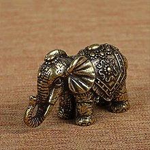 LBSST Elefante de la Suerte de Cobre Macizo,