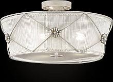 Lea lámpara de techo decorativa de organza