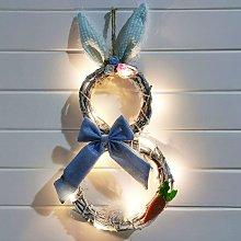 LED 48 x 25 cm, guirnalda de Pascua con guirnaldas