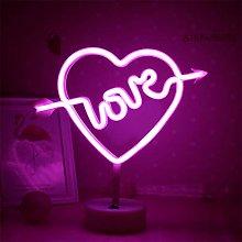 LED de la forma del arco de Cupido luz de neón de