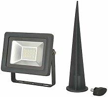 LED Foco estaca, 10W, 800lúmenes, IP65,