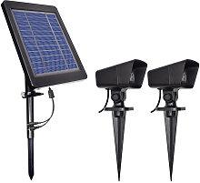 LED Solar Powered caliente luces jardin Patio de
