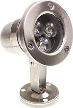 LEDKIA LIGHTING Foco LED RGB de Superficie Inox