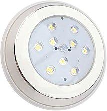 LEDKIA LIGHTING Foco Piscina LED Superficie Inox