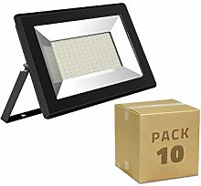 LEDKIA LIGHTING Pack Foco Proyector LED 20W Solid