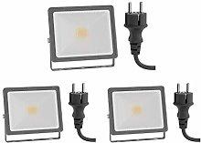 ledscom.de Foco LED para exteriores FLIN, foco,